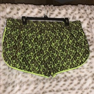 Lace Vera Wang shorts